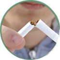 STOP SMOKING AND AVOID EXCESSIVE DRINKING