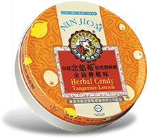 Nin Jiom Herbal Candy  Tangerine-Lemon
